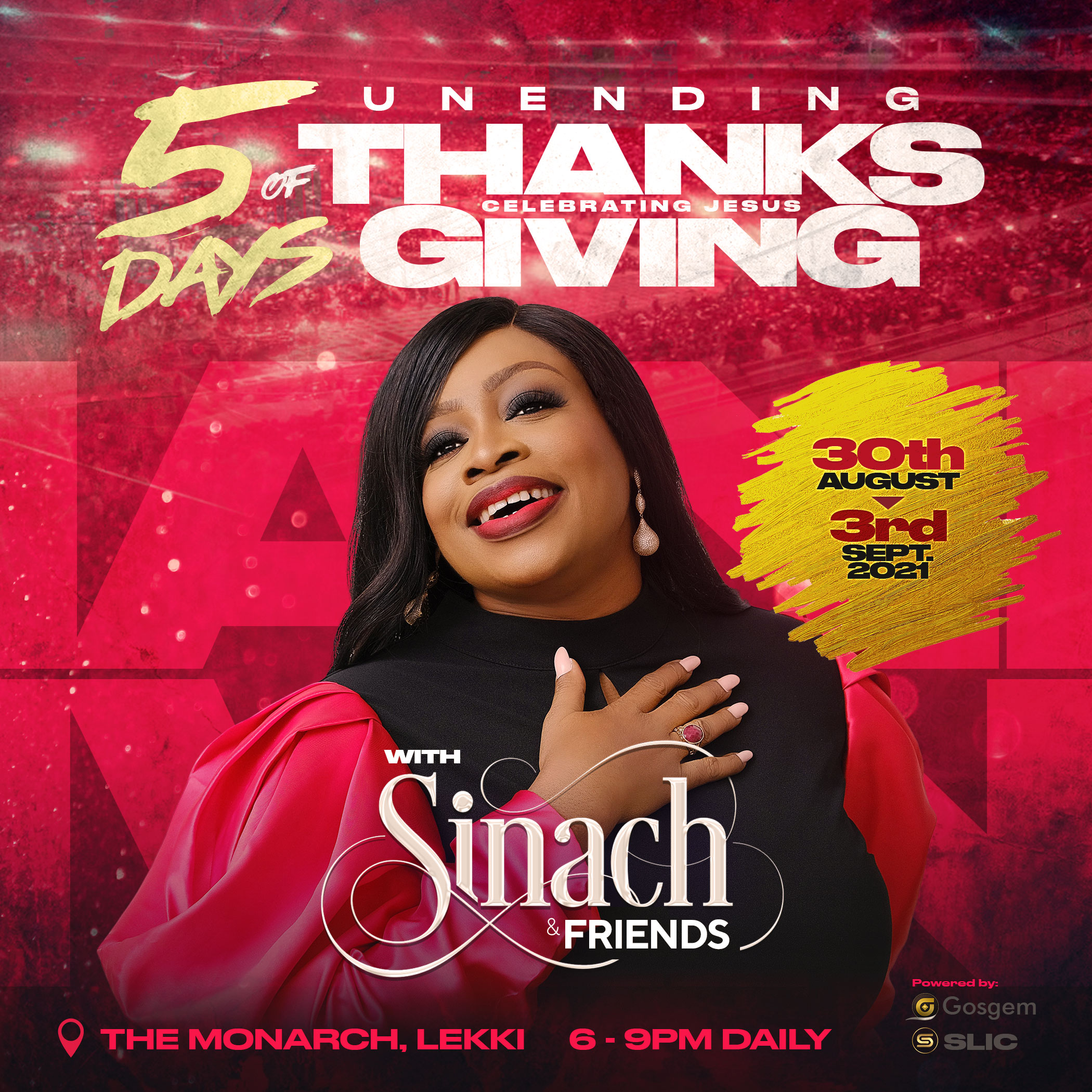 5 Days of Unending Thanksgiving with Sinach