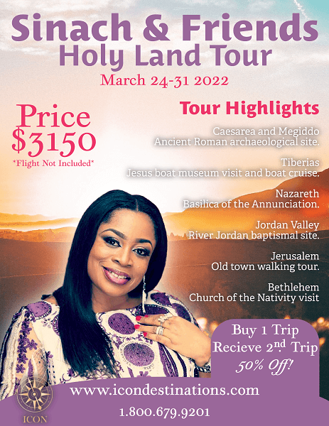 Sinach & Friends Holy Land Tour