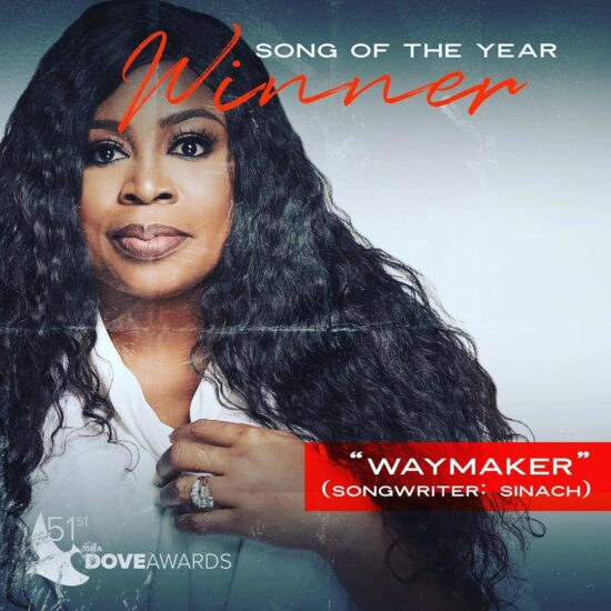 Dove Awards 2020 | Sinach's Waymaker wins Song of the year