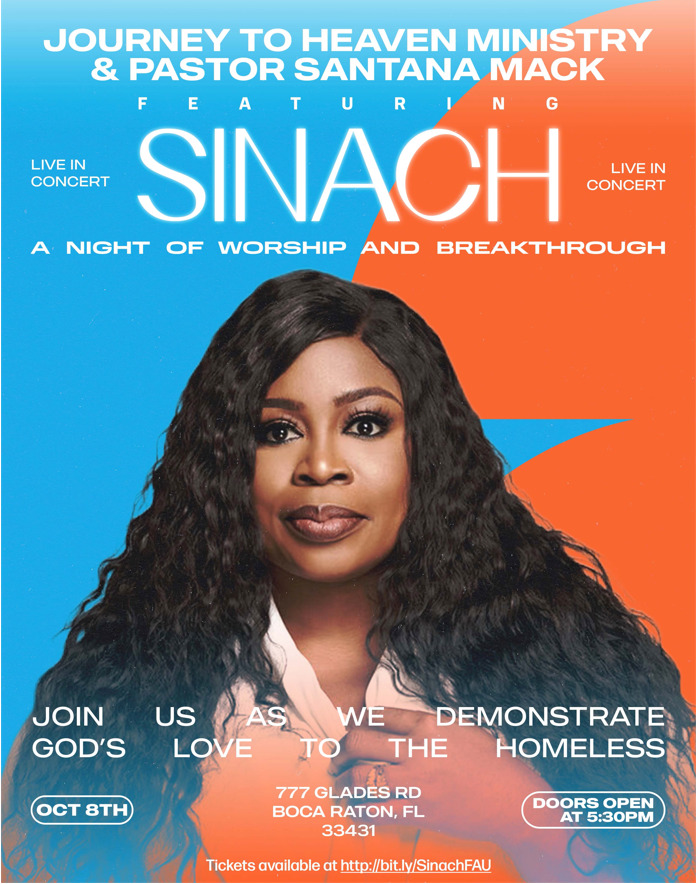 SINACH – Worship Night Florida